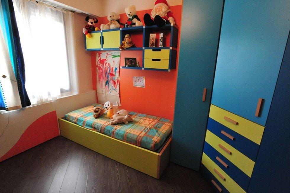 Camerette colorate per bambini