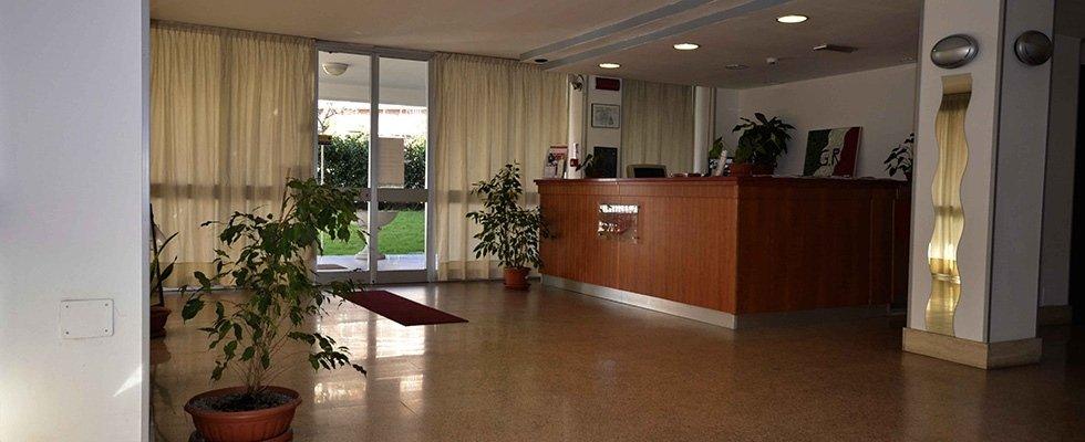 Hall albergo Guido Reni