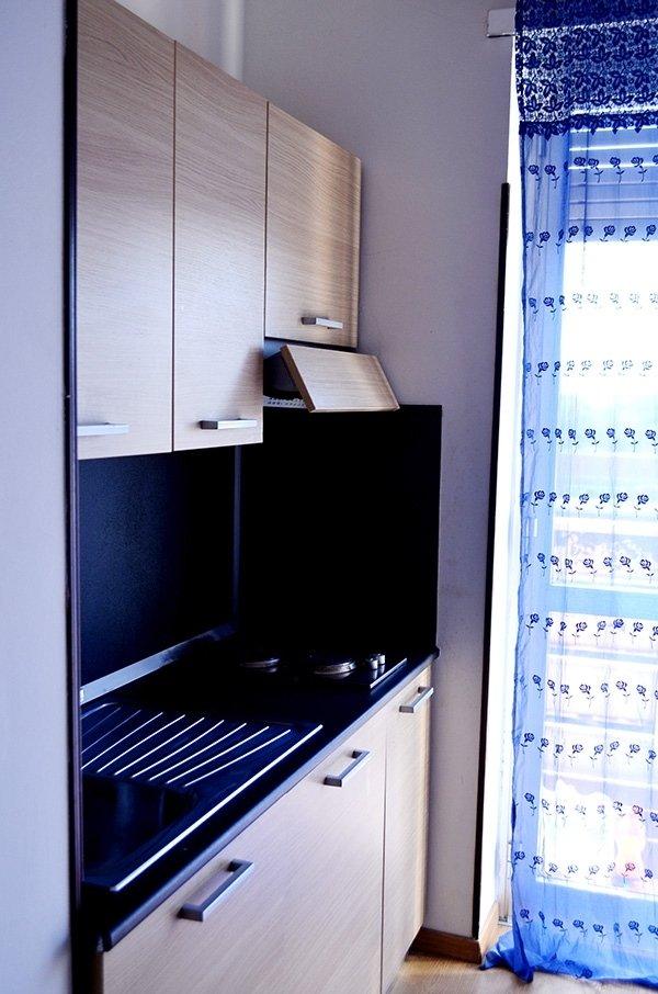 mini appartamenti con cucina