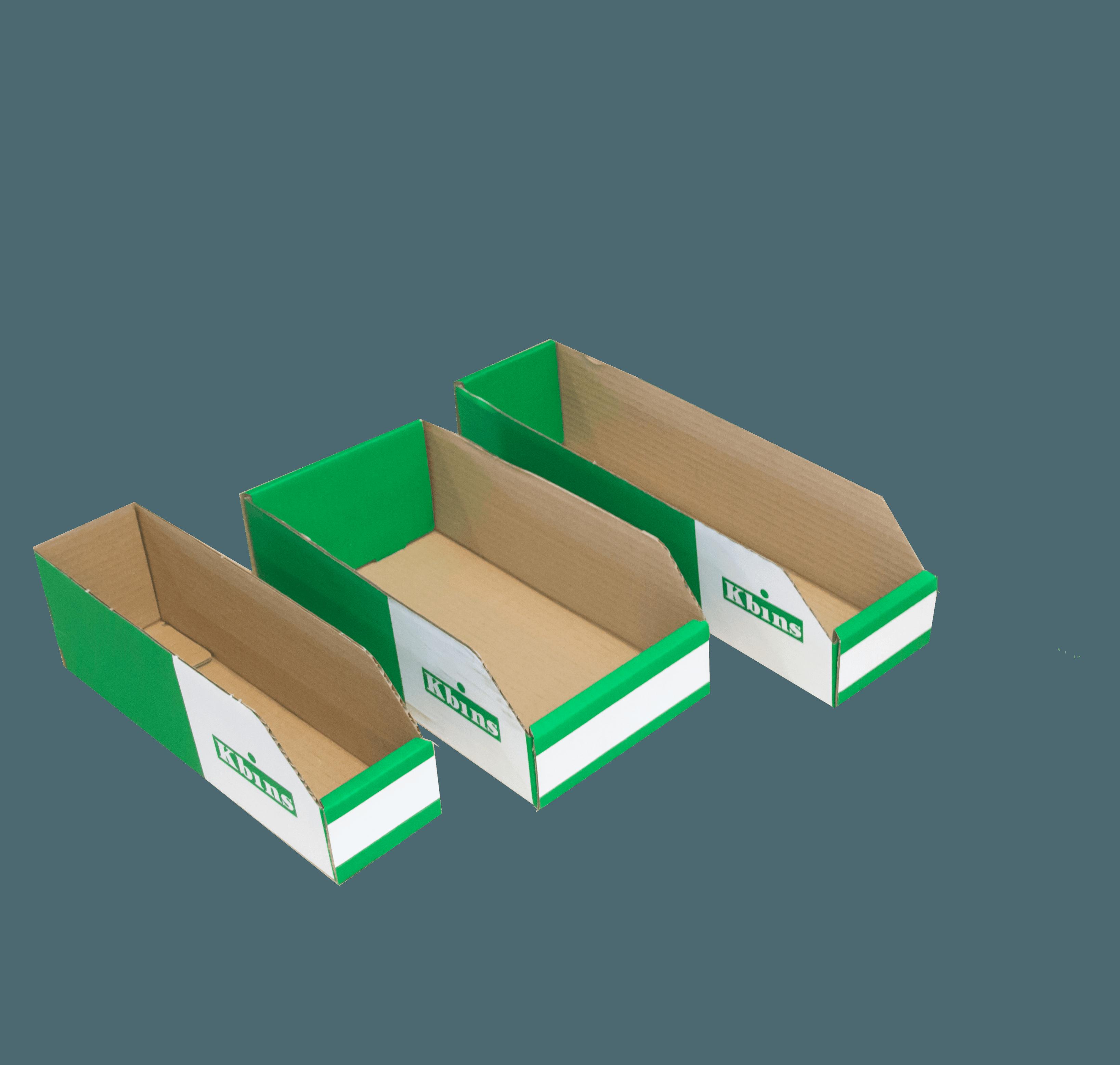 Flat Packed K Bins