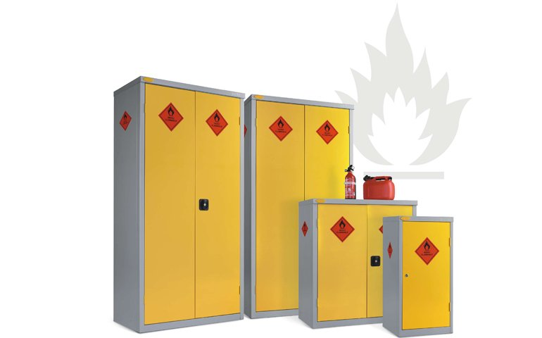 Incroyable Hazardous Cabinets