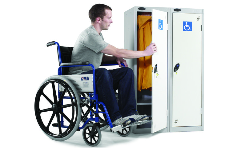 Low Access Disability Lockers