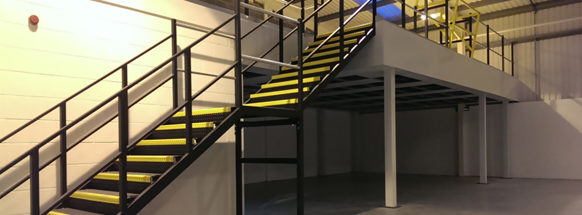 Mezzanine Floors Services : Mezzanine floor construction racking shelving ltd