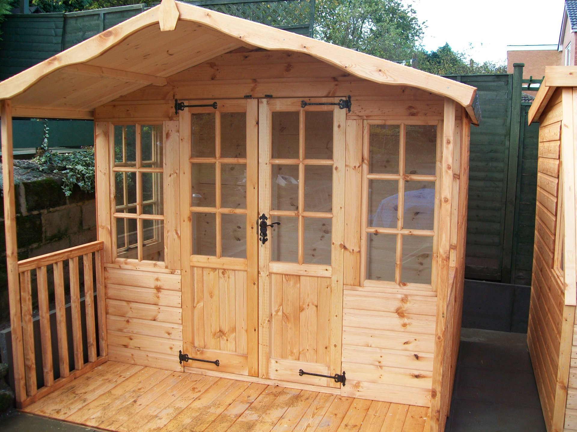 potting shed builders