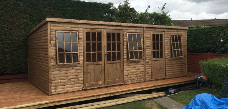 made to order garden buildings
