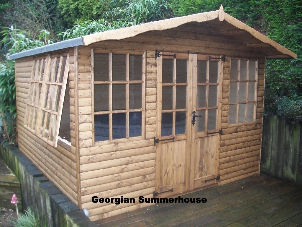 Wooden garages in nottinghamshire - Prices For All Our Summer Houses Potting Sheds