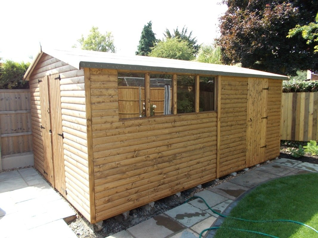 wooden outbuilding package