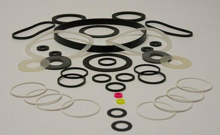 produzione rondelle gomma