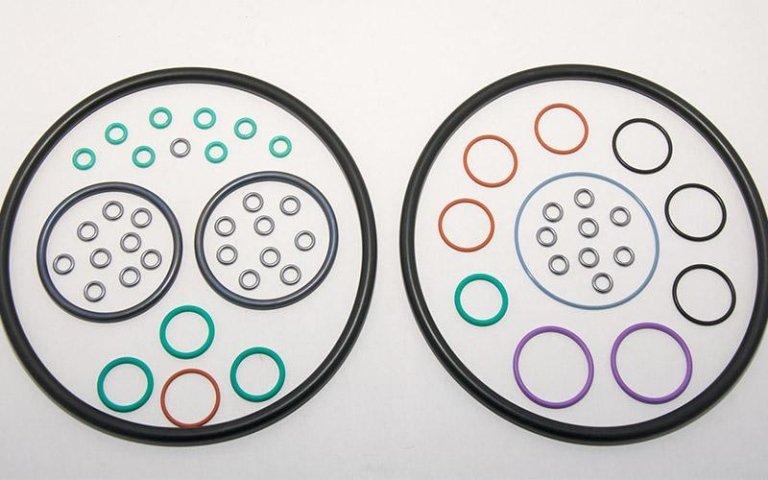 anelli o-ring di varie dimensioni