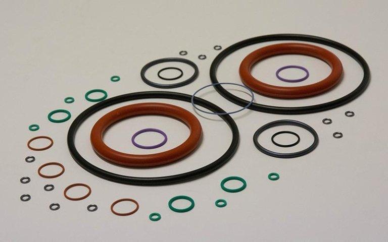o-ring di varie dimensioni