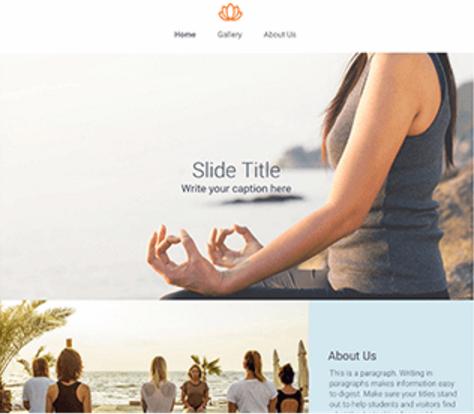 Desktop Website