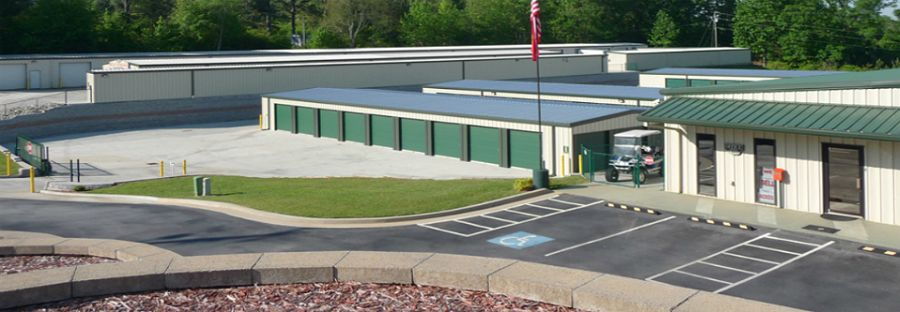 Secure and safe personal storage space facility in Toccoa, GA