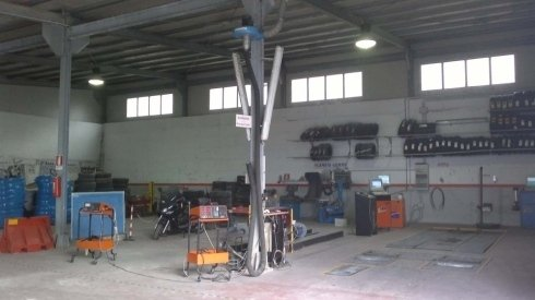 Officina revisione gomme
