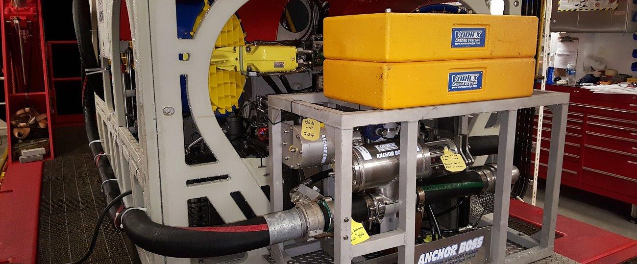 Anchor Boss Pump Installed on ROV