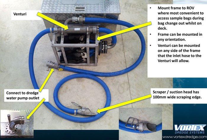 Marine Growth Sample Tool Step 2