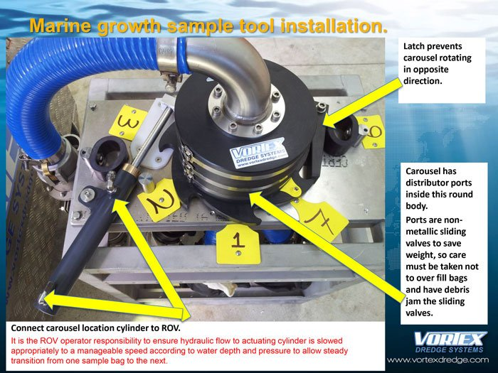 Marine Growth Sample Tool Step 4