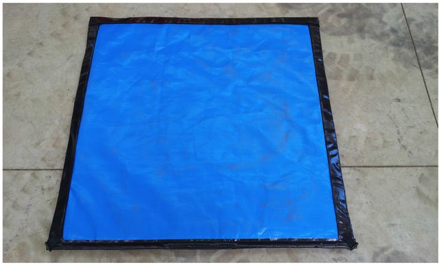 Rov Oil Spill Mat Absorbant Hydraulic Fluid Mat Vortex