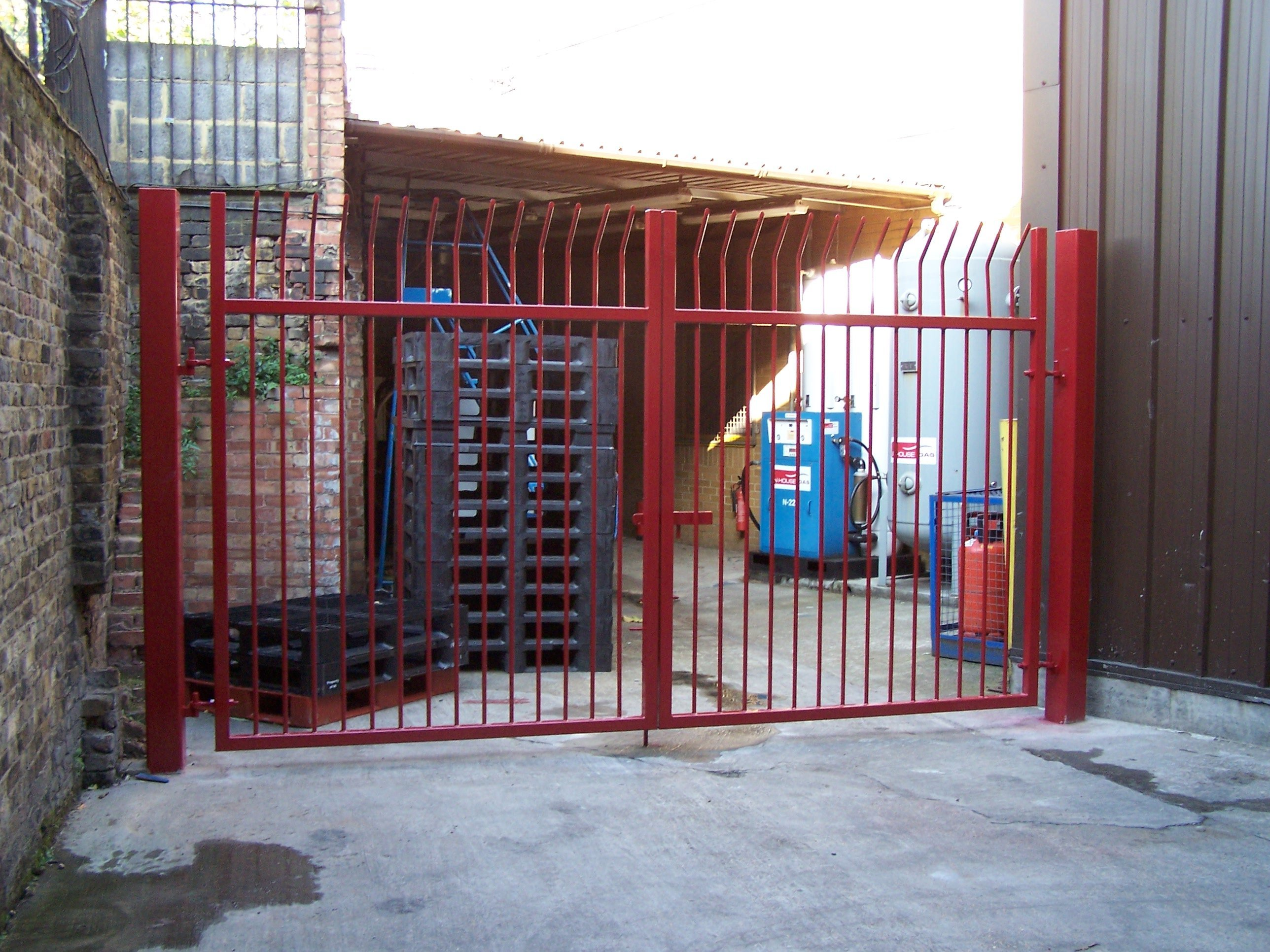 Iron automated gates