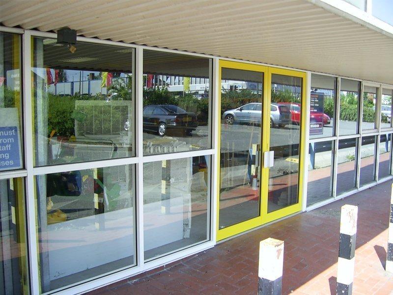 manual sliding doors