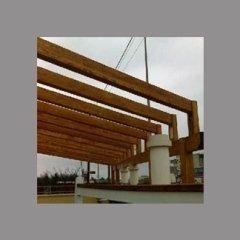 travi in legno per copertura