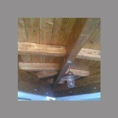 soffitti in legno per interni o esterni