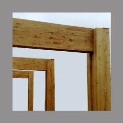 legno a incastro naturale