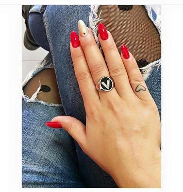 Manicure san valentino e nail art