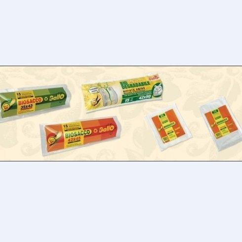 sacchi per la spazzatura biodegradabili
