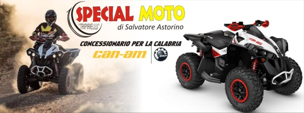 CONCESSIONARIO can-am quad San Giovanni in fiore