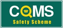 COMS safety scheme logo