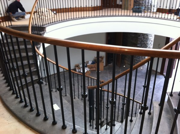 Marble Clad Precast Feature Stair