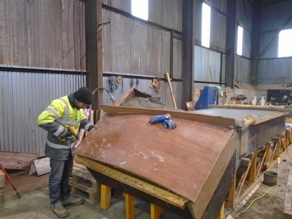 Joinery altering formwork