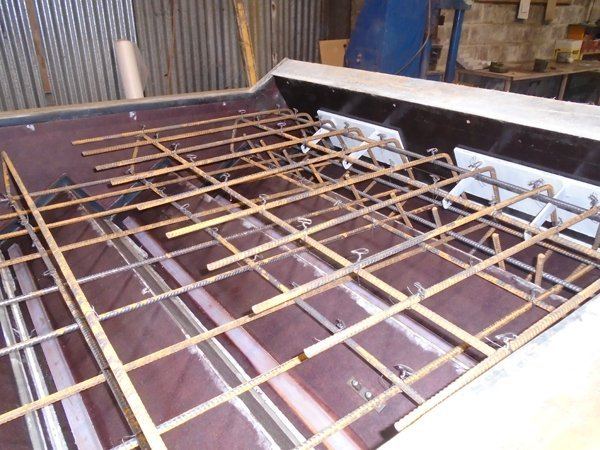 Partial steelwork 2