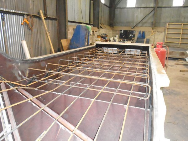 Partial steelwork