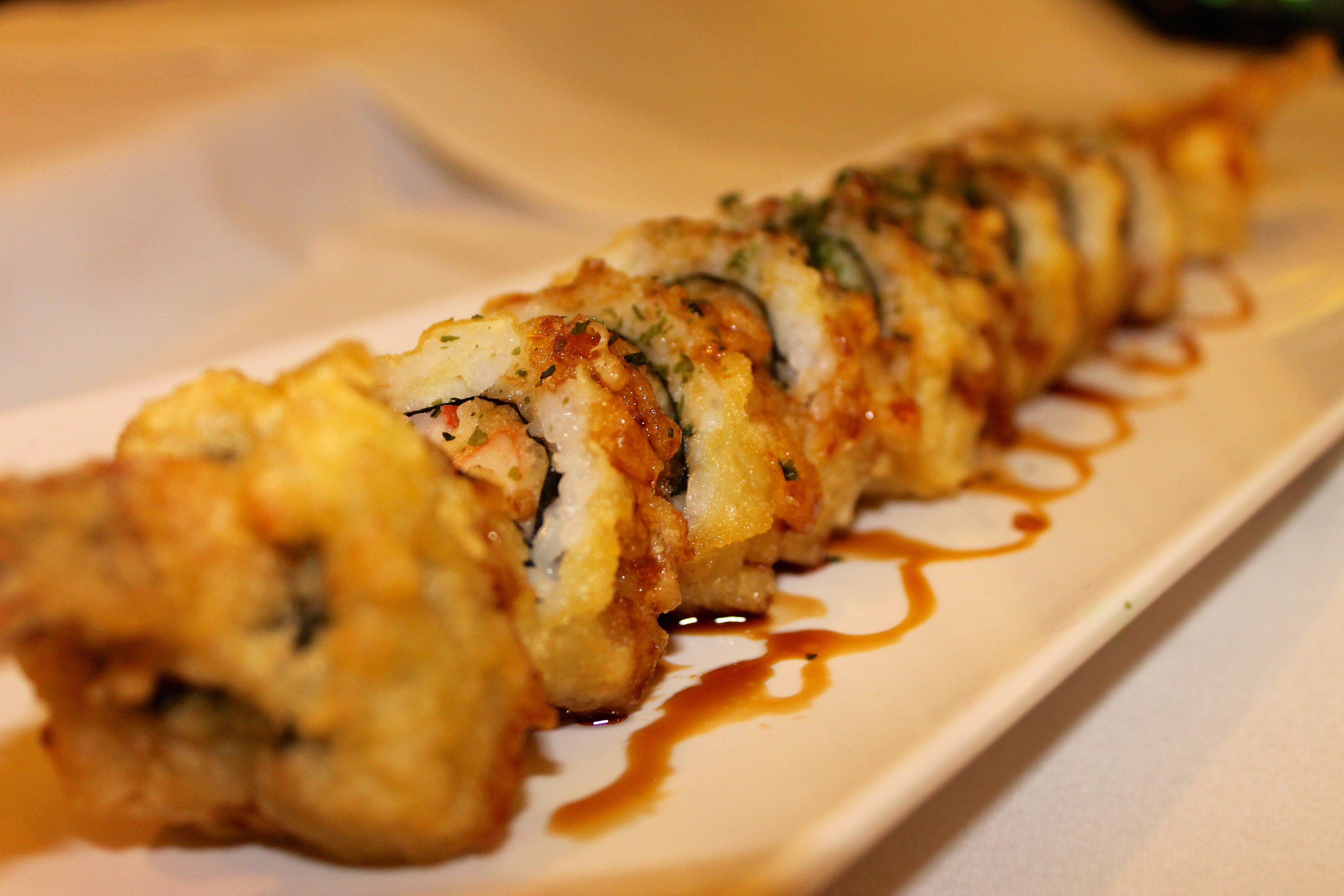 sushi in little rock