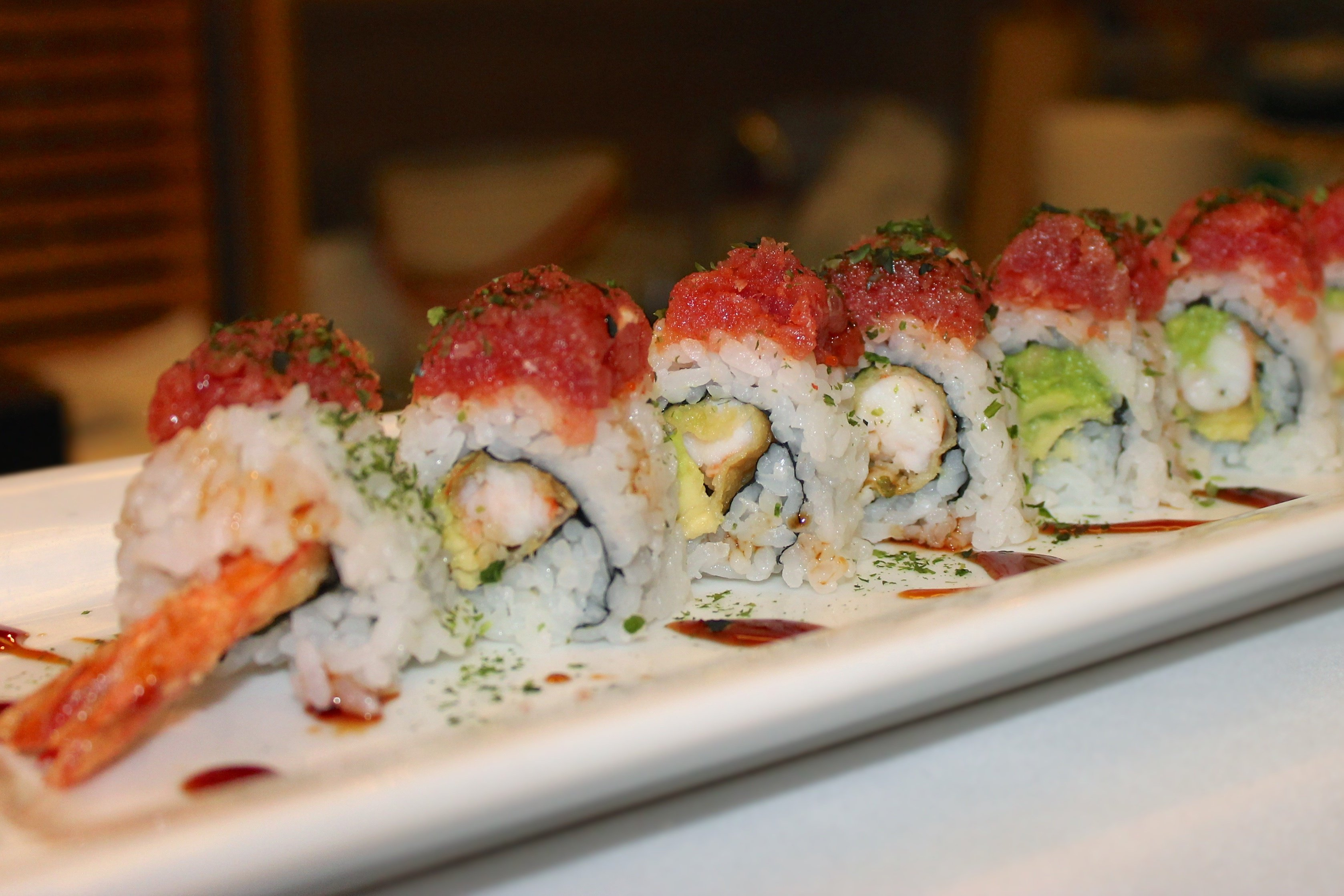 sushi in alexander, ar