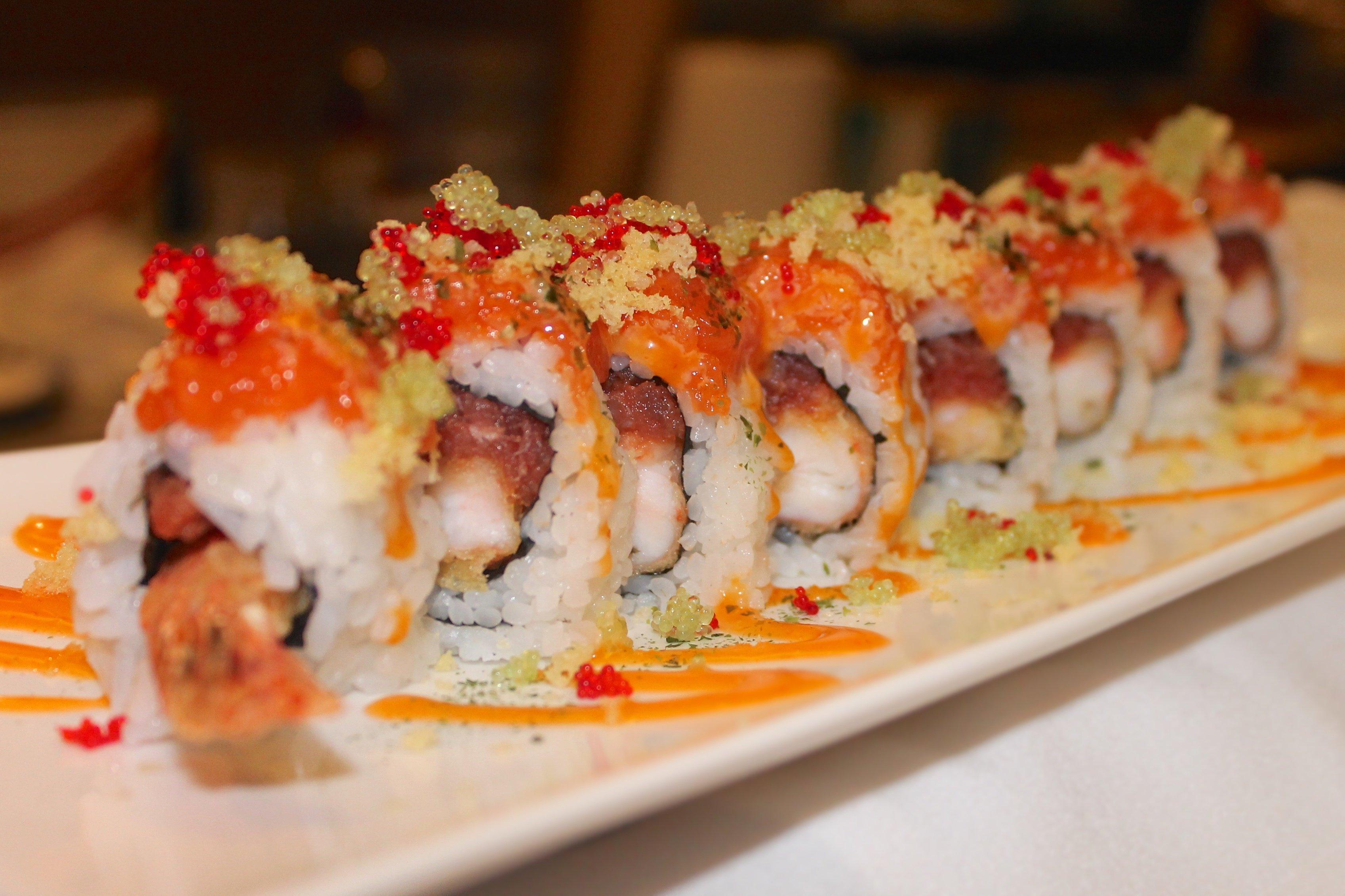 sushi rolls in bryant