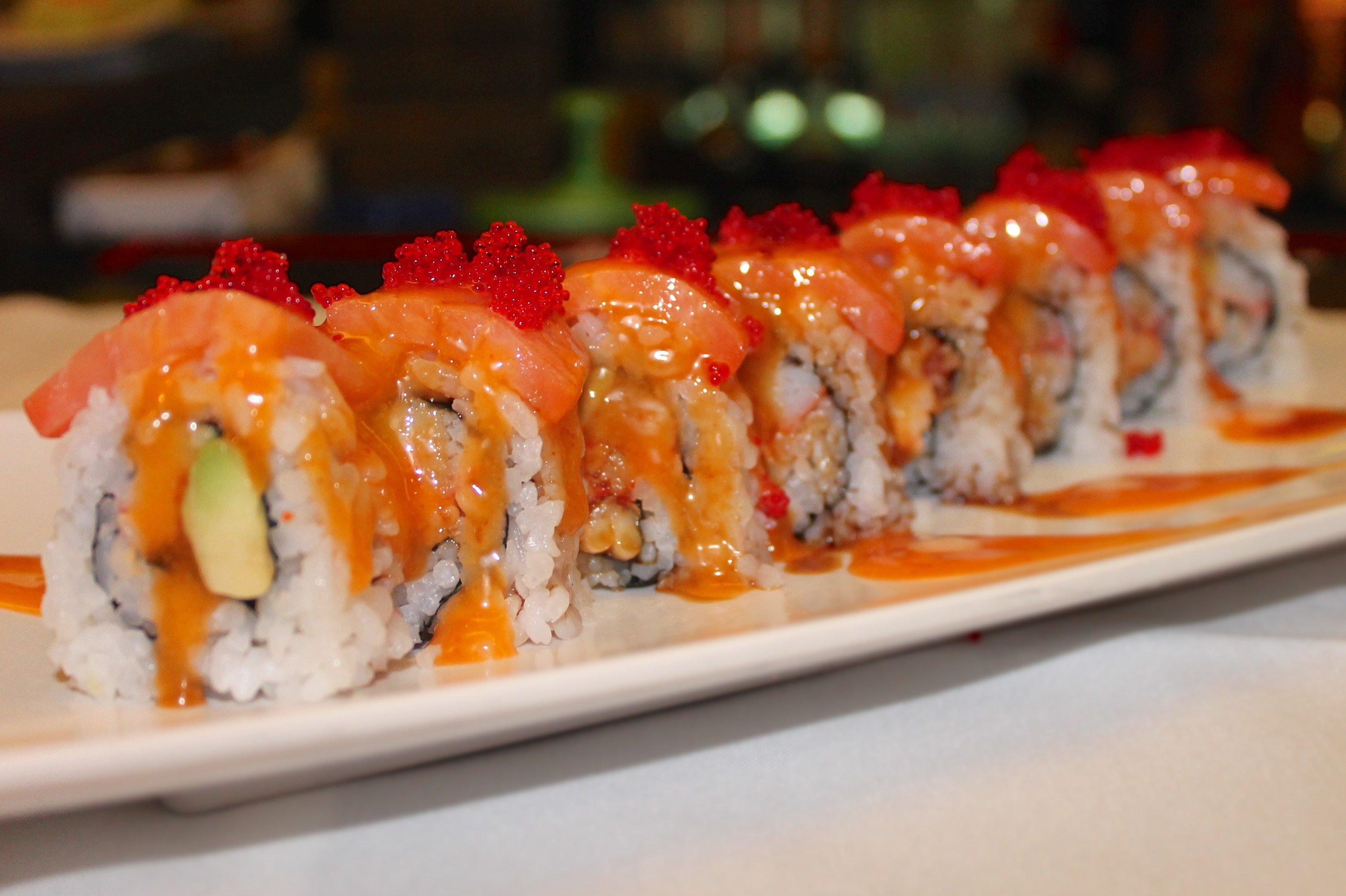 sushi in little rock, ar