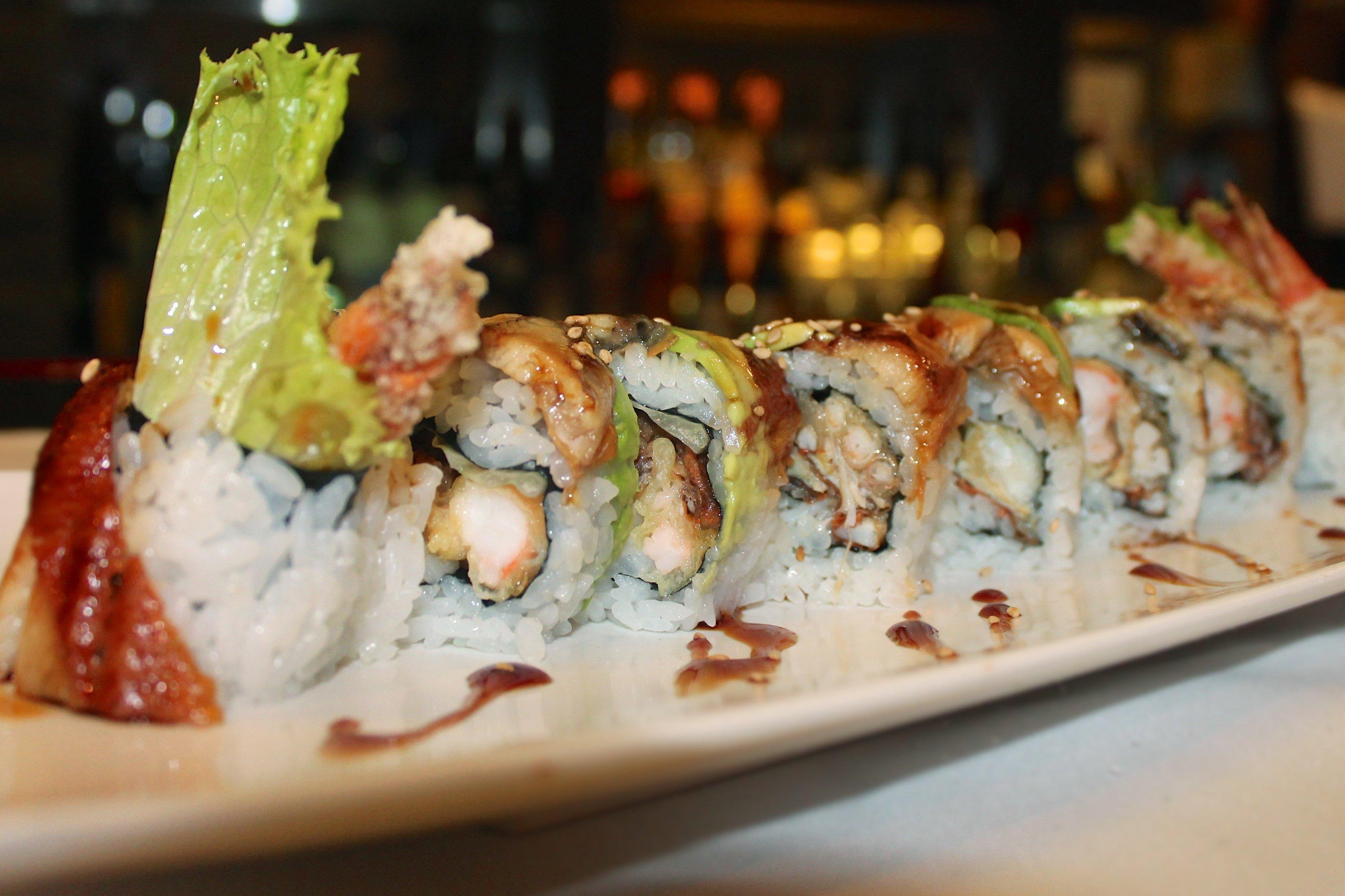 sushi in benton, ar