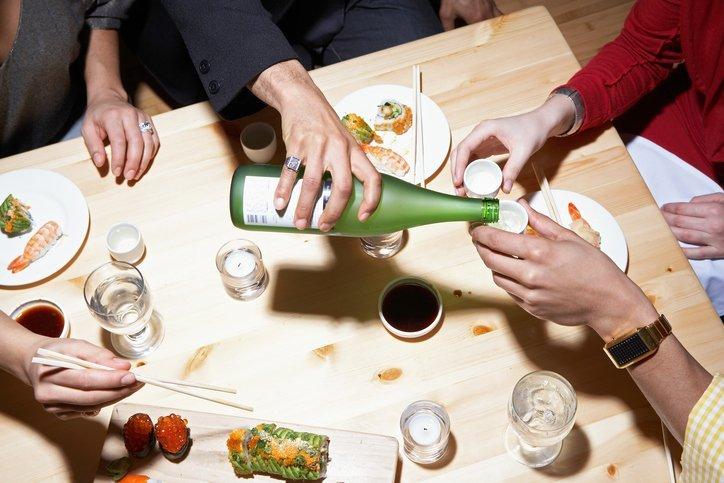 japanese steakhouse, hibachi grill, sake