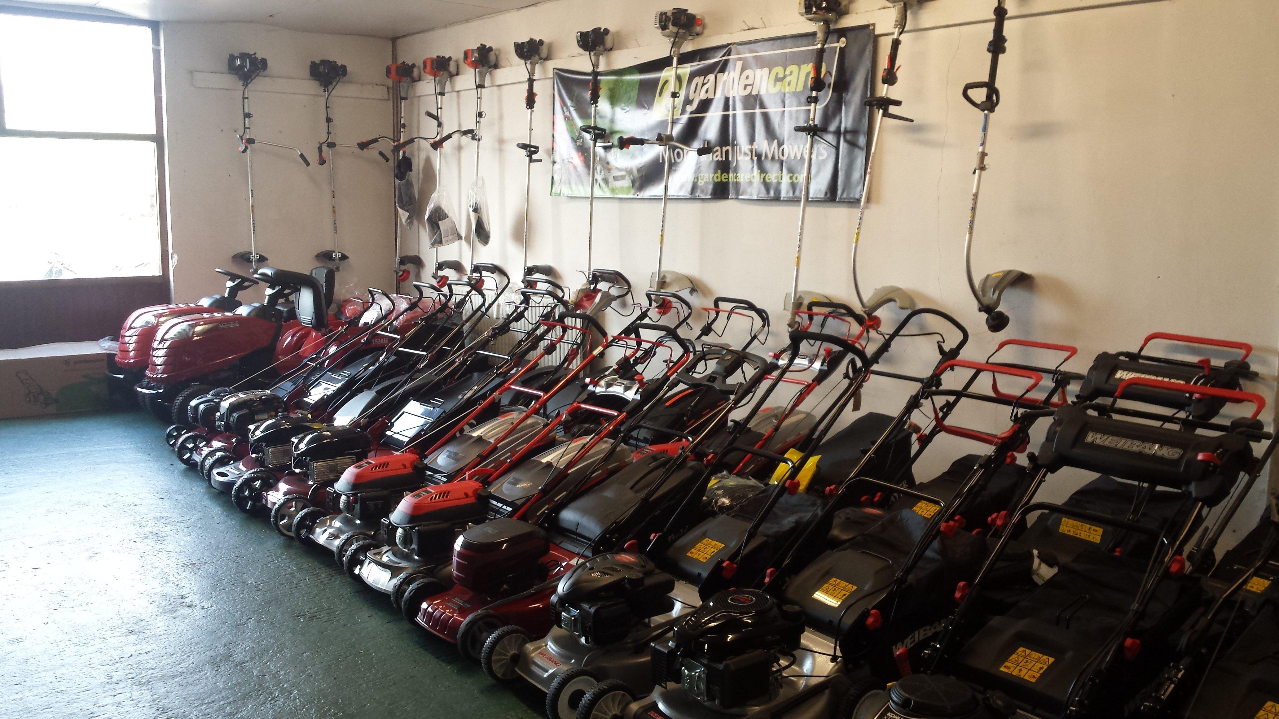 lawnmowers in stock