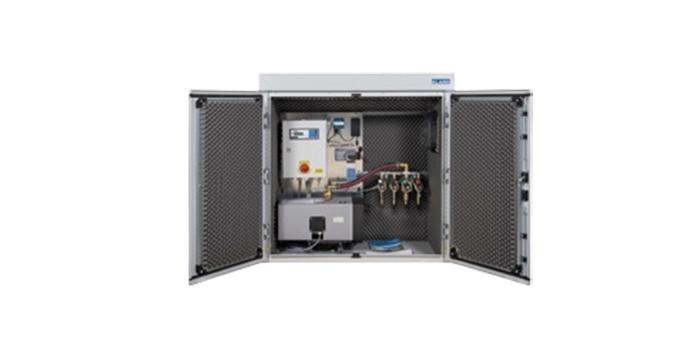 impianto di depurazione delle acque| armadio esterno