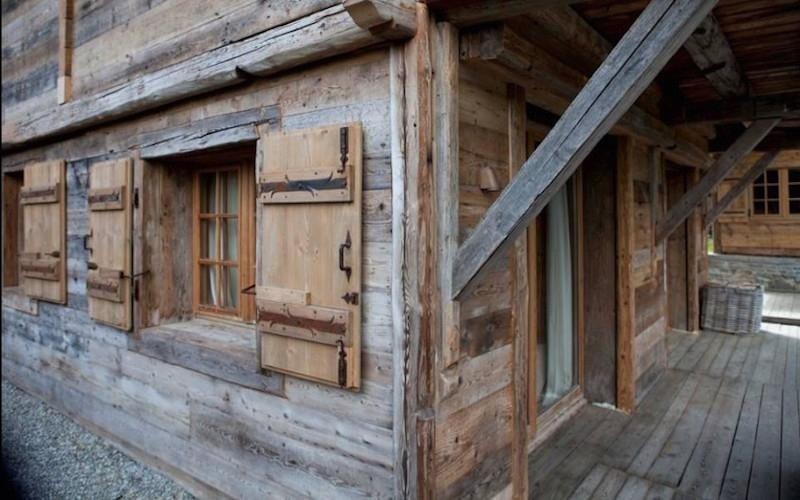 Realizzazione case in legno antiche