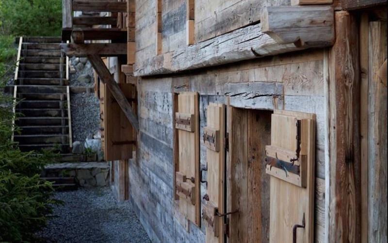 Progettazione case in legno antiche