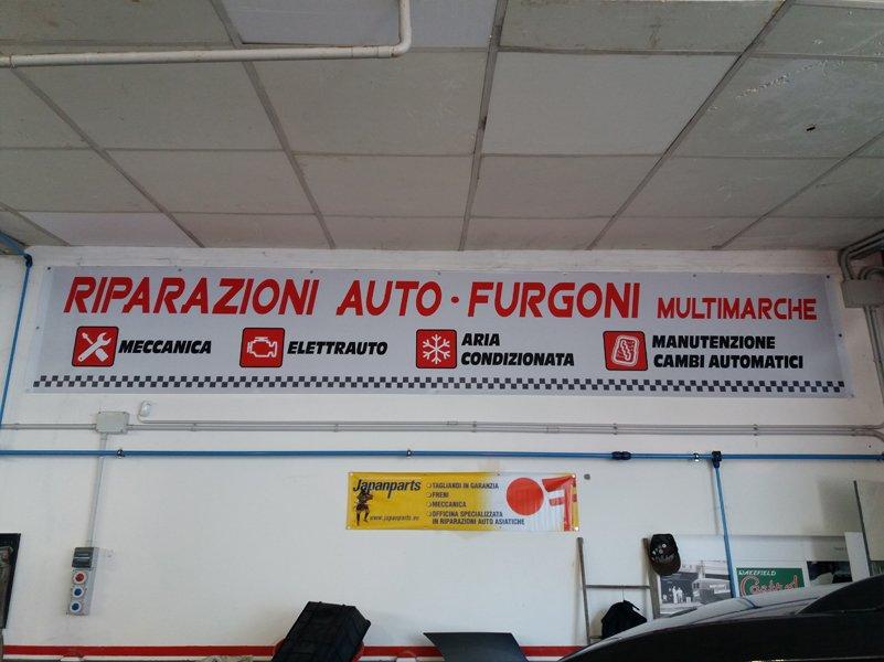 riparazione auto- furgoni