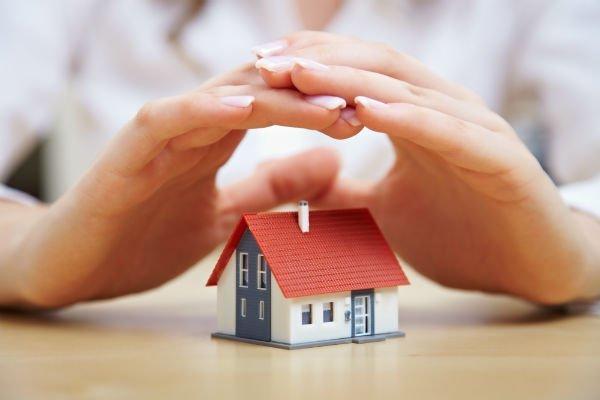 modellino di una casa