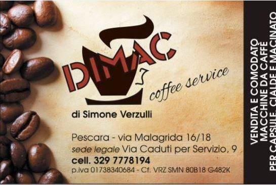 DIMAC COFFEE SERVICE - LOGO
