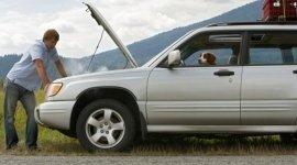 motori danneggiati, auto in avaria, riparazione suv