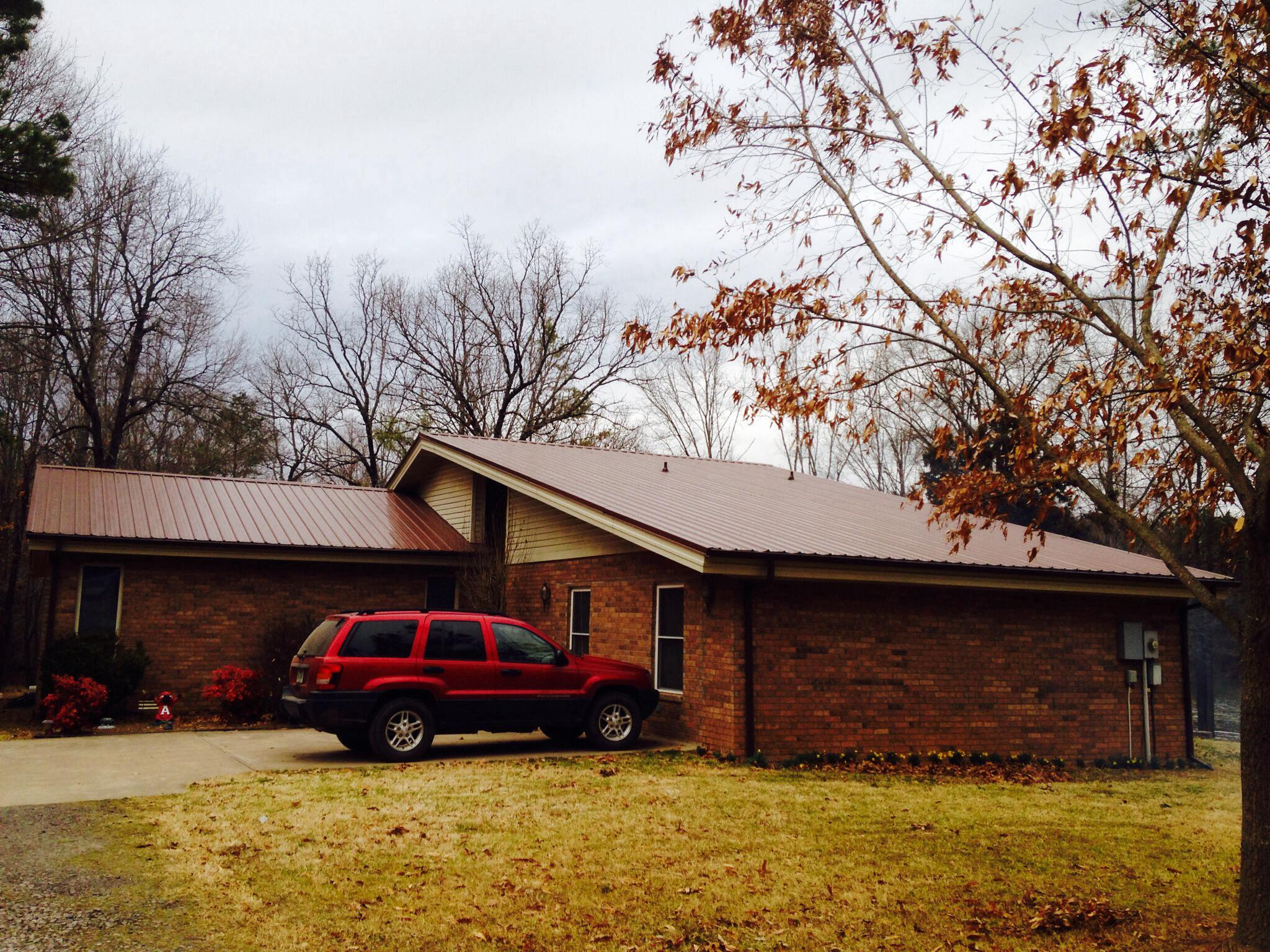 New gutters in Atkins, AR