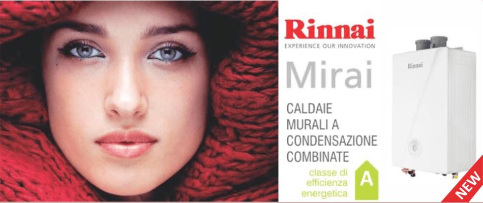 CALDAIA MIRAI RINNAI